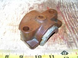 Old Associated 2 1/2hp Main Bearing Cap Hit Miss Gas Engine Steam Tractor Oiler