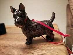 Cute NEW Scotty Scottish Terrier Xmas Christmas Ornament