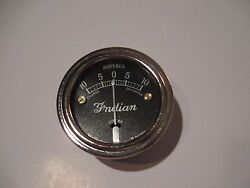 Indian Scout 101 Chief Four Ammeter 10 Amp 1928-1934