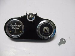Indian Scout Four Chief Dash Switch Instrument Panel 1935-1939