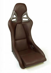 REAL CARBON Sport seat leather brown for Porsche Carrera GT look 911 997 GT2