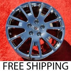 Set Of 4 Chrome 18 Cadillac Sts Oem Factory Wheels Rims Cts Dts 4631