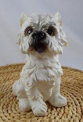 Westie West Highland White Terrier Dog Figurine 6 12