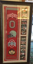 Ohio State Banner Of Champions Framed Picture