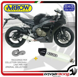 Arrow Exhaust Indy Race White Approved Honda CBR 1000 RR 2008  2013