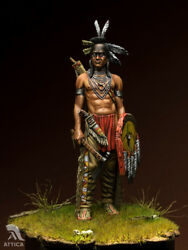 Blackfoot Warrior Native American Tin Painted Toy Soldier Pre-sale   Museum