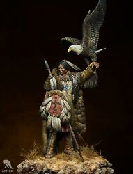 Dakota Warrior Sioux American Indian Tin Painted Toy Soldier Pre-sale   Museum