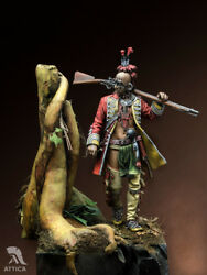 Iroquois Native Americans Tin Painted Toy Soldier Miniature Pre-sale | Museum