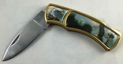 Al Agnew American Eagle Collectors Folding Pocket Knife New