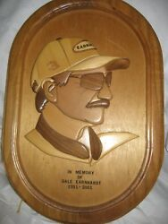 Earnhardt Wood Picture By Wood Artist