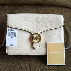Michael Kors Cindy Large Dome Crossbody Leather NWT 35S6SCPC3L $228.00 $175.00
