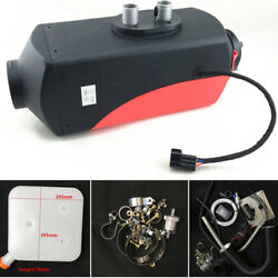 12V Diesel Air Heater Tank Aluminum Heating Radiation Time Temperature Control