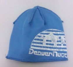 Denver Nuggets Nba Distressed Adidas Winter Fitted Knit Beanie Hat Skully Cap