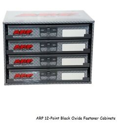 Arp 12-point Black Oxide Fastener Cabinet,stainless Steel Bolts/nuts/washers -