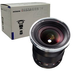New Carl Zeiss Distagon T 21mm F2.8 Ze Lens For Canon Ef Eos - Made In Japan