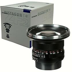 New Carl ZEISS DISTAGON T * 18mm f3.5 ZF.2 Lens Nikon Built-in CPU Made inJapan