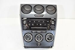 06 07 Mazdaspeed6 Radio Stereo Climate Control Assembly MS6 2006 2007