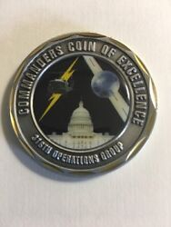 316th Operations Group Commanders Coin Of Excellence F16