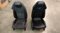 LAMBORGHINI HURACAN PASSENGER DRIVER LEFT AND RIGHT SIDE SEATS OEM