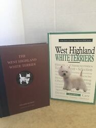 West Highland White Terrier Westie Dog 2 Books Scarce