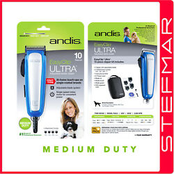 Andis Dog Clippers Easyclip Raca Medium Duty Includes 4 Guide Combs - Racd