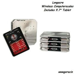 Longacre Racing Computerscales Wireless With 9.7 Tablet Xli Singleload Cell,rd