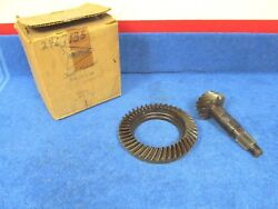 1961 Dodge Compact With 3/8 Holes 3.911 Ring And Pinion W/ 7-1/4 Gear Nos 118