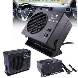 Portable 12V Auto Car Heater Warmer Fan Ceramic Defroster Warmer Window Demister