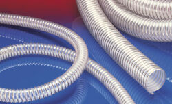Airduc Pur 355 As Antistatic Vacuum And Transfer Hose, Id 3.5, 25 Ft