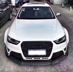 AUDI A4S4RS4 MB STYLE FULL  WIDE BODY KIT FRONT LIP SIDE SKIRT SPOLIER Diffuser