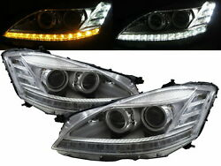 W221 06-09 PRE-FACELIFT LED Projector AFS D1S Headlight CH for Mercedes-Benz LHD