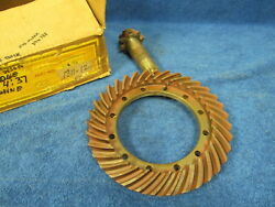 1933-36 Plymouth Desoto Dodge Truck 437 Ring And Pinion Gears Nos Mopar 118