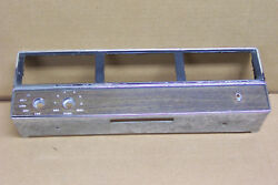 1965 1966 Ford Galaxie Other Air Conditioner AC Under Dash Unit Face Plate Only