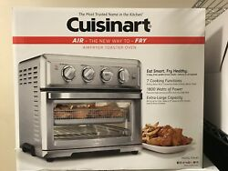 Convection Toaster Oven-air Fryer With Light Silver- Cuisinart Toa-60