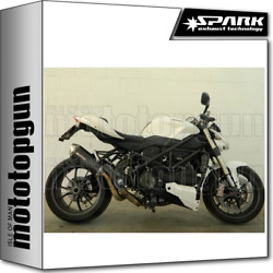 Spark Kit Exhausts Force Racing Dark Style Ducati Streetfighter 848 2012 12