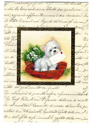 Westie West Highland Terrier Dog Christmas Greeting Card Image Arts