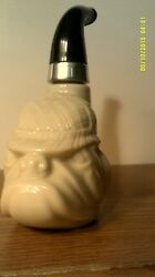 VINTAGE 1972  AVON  BULL DOG  PIPE DECANTER-EMPTY -  NO  BOX-FREE SHIPPING