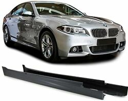 SPORT look side skirts for BMW 5 series F10 Sedan Facelift from 13