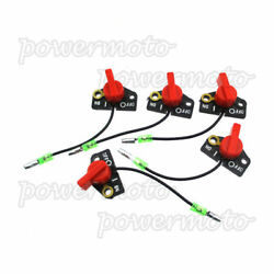 5x On/off Kill Engine Stop Switch Fits Motorcycle Parts Subaru Robin Ey15 Ey20