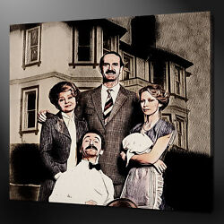 Fawlty Towers Basil Manuel Sybil Polly Canvas Print Picture Wall Art