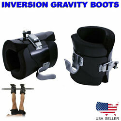 Inversion Anti Gravity Boots Abs Core Abdominal Sit Up Hooks Therapy Fitness Us