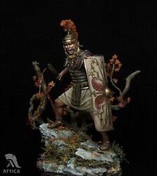 Roman Legionary Heavy infantry 75mm Resin Painted Toy Soldier Miniature  Museum