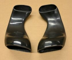 1997-2004 C6 Corvette Front Brake Cooling Duct Extensions New Made In Usa