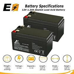 Expertbattery 12v 1.3ah Sla Battery Replacement For Dramec Yj69a - 2 Pack