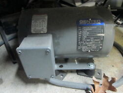 American Rotary Adx03-s 208/230v Rotary Phase Converter W/gentec Ind Generator