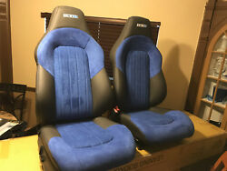 2004-2008 CHRYSLER CROSSFIRE SRT6 OEM LEFT & RIGHT SEATS 04 05 06 07 08 CUSTOM !