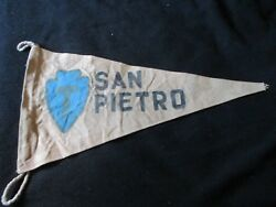 Wwii Us Army 36 Th Texas Infantry Division San Pietro Barracks Wall Flag