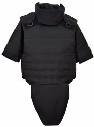 Body Armor Plate Carrier Molle Tactical Vest Iiia Waterproof Inserts Size M