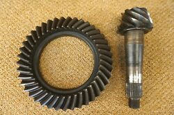 Gm 65 66 67 Corvette Ring And Pinion Gear Set 4.56 Ratio 64 68 69 70 Dated 10 65