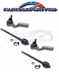 1970-1974 Mazda 808 Tie Rod End Inner And Outer Set